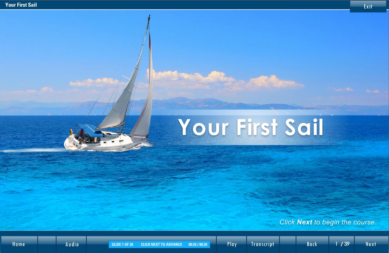 ASA First Sail