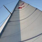Sailing a friend's Lippincott 30